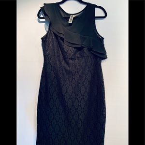 Black Dress Size 12 by Julian Taylor NWOT